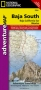 National Geographic Baja South Map