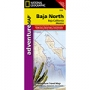 National Geographic Baja North Map